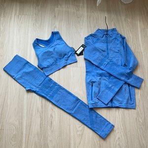 Blue Three Piece Set